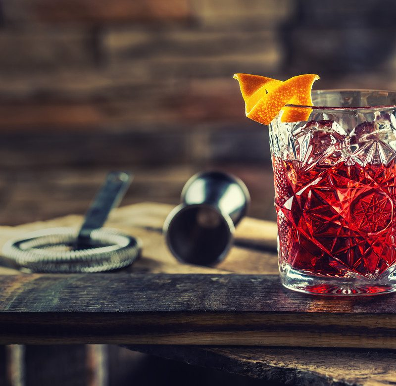 Negroni przepis na drink