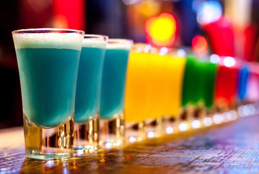 Kolorowe shoty