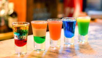 Modne kolorowe shoty przepis