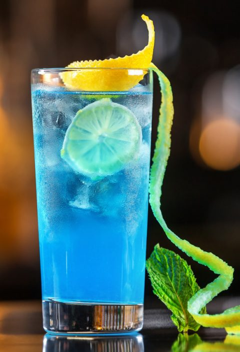 Przepis na drink Malibu Pop