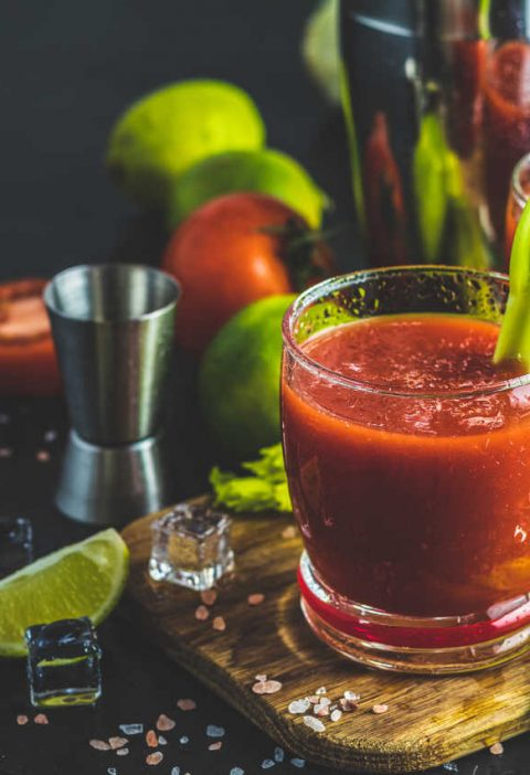 Bloody Mary drink przepis