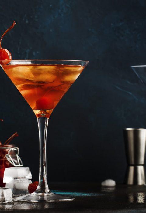 Drink manhattan przepis